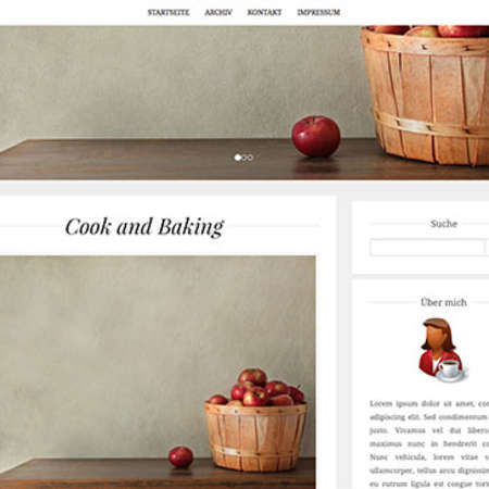 Theme: Cook and Baking (responsive)